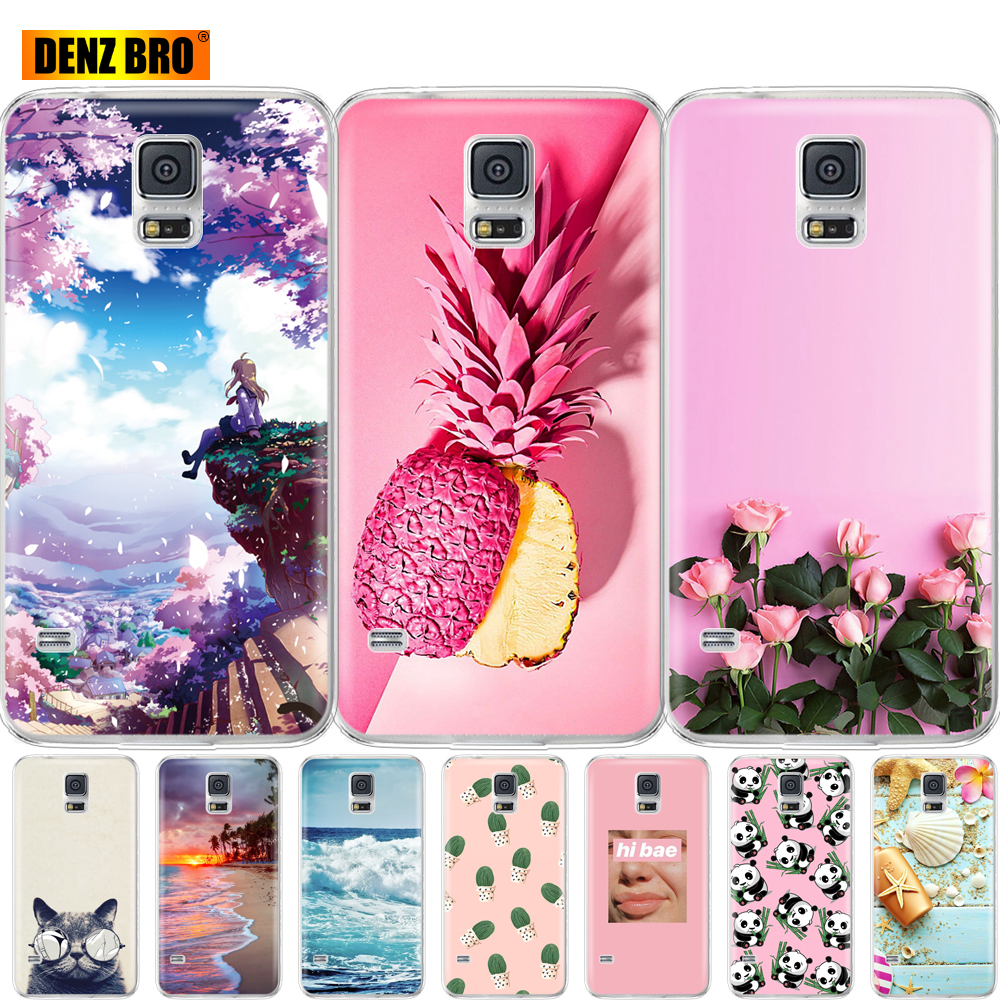 For <font><b>Samsung</b></font> <font><b>Galaxy</b></font> <font><b>S5</b></font> <font><b>Case</b></font> Silicon Soft TPU Phone Cover For <font><b>Samsung</b></font> <font><b>S5</b></font> Neo <font><b>Case</b></font> Capa For <font><b>Samsung</b></font> <font><b>S5</b></font> i9600 SM-<font><b>G900F</b></font> coque bumper image