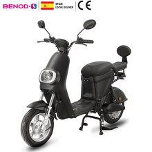 Benod 48v 350w 20ah motocicleta elétrica scooters de alta potência removível bateria lítio 25km/h bicicleta elétrica moto ebike scooter