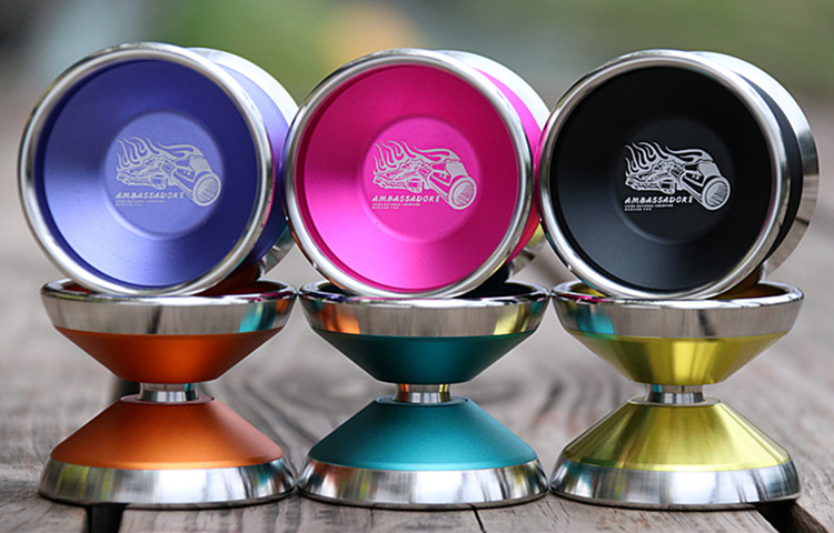 New Arrive St.Embassy Ambassador2 YOYO Strong Performance 6061 metal and stainless steel outer ring for Professional competition