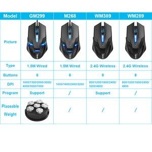 Image 5 - TeckNet 7000DPI Programmable Gaming Mouses Professional Gamer Mouse RAPTOR Pro Adjustment 8 DPI Level Gamer Mice for PC Laptop