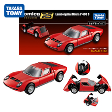 12CM Takara Tomy Car Lamborghini Countach LP500S Lamborghini Miura P 400S Matchbox Cars Kids Toys Christmas Gift