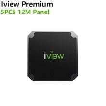 Iview premium 5 pces 12m painel caixa de tv nenhum aplicativo incluído