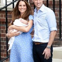 Pregnant Dress Kate Middleton Polka Dot Print Pregnant Dress