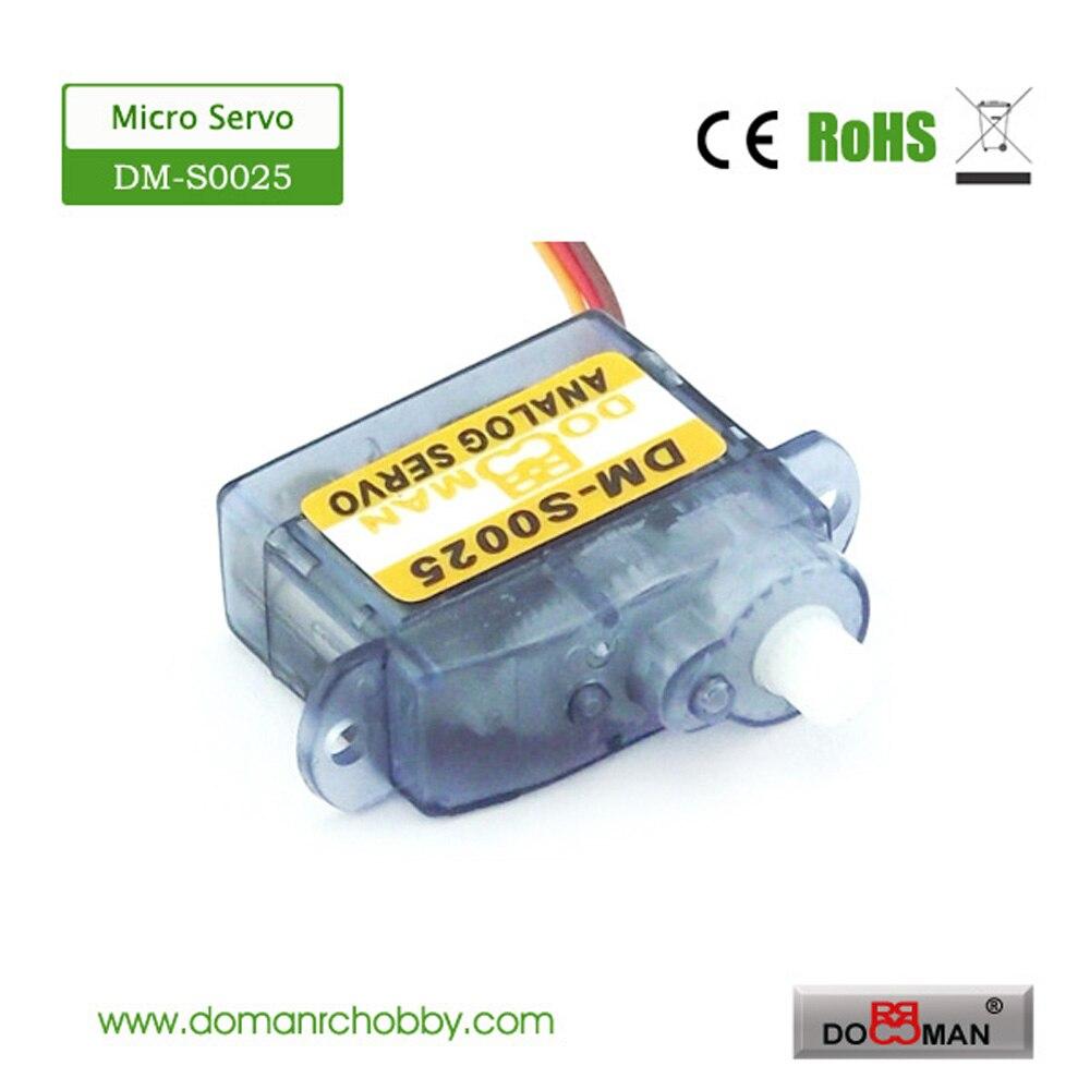 Прямая с фабрики 100 шт DM-S0025 2,5g цифровой супер микро rc сервопривод