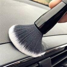 Araba Ultra yumuşak saç İnce detaylandırma fırçalar iç detaylandırma çatlak temizleme fırçası araba temizleme aracı iç aksesuarları