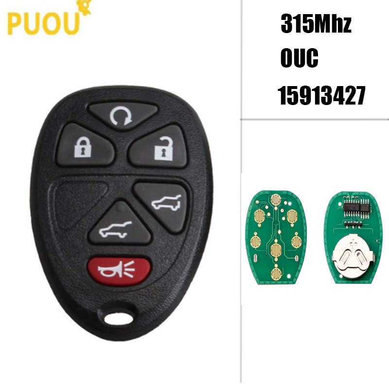 Remote For 2009 2010 2011 2012 2013 2014 2015 2016 Chevrolet Traverse Flip 427
