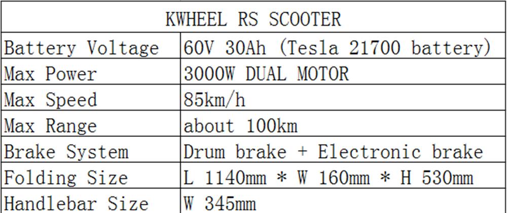 60V LED Tesla Electric Scooter - Travel Electronics