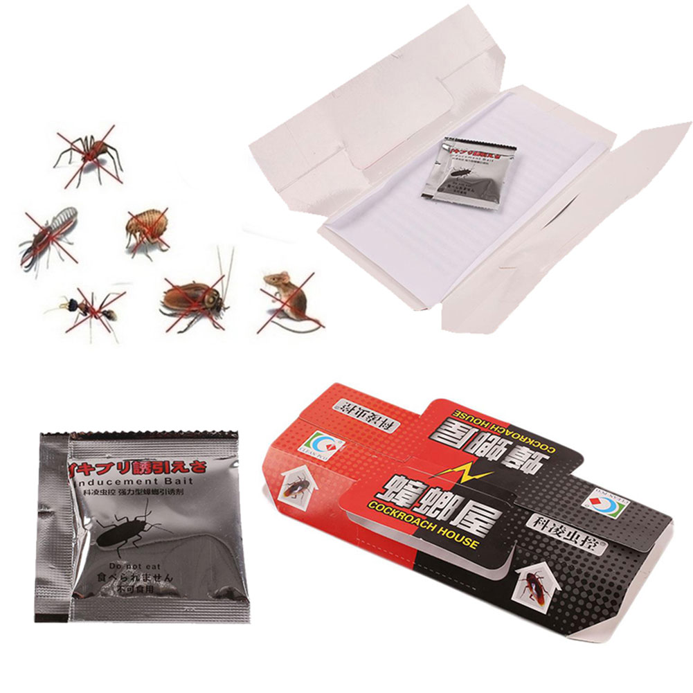 Cockroach Trap Repellent Insect Pest Repeller Killing Bait Sticker Sticker Household Killer Killer