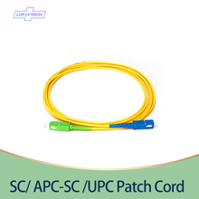 Free Shipping 10PCS/Lot SC/APC SC/UPC SM 2mm/3mm Fiber Optic Jumper Cable Single Mode Extension Patch Cord