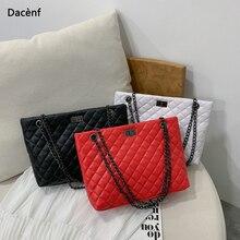 цена на Luxury Brand Plaid Crossbody bags for women 2020 Large Female Handbags Designer Black Leather Messenger Tote Women shoulder bag