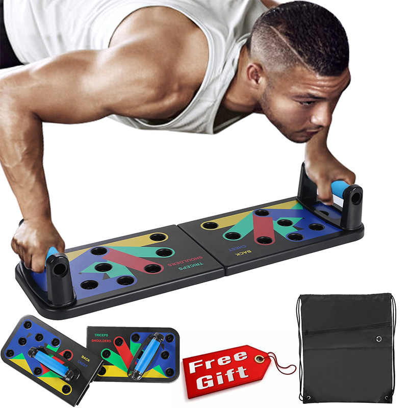 Keptfeet 9 en 1 Unisex la multiposici/ón Push Up Board Push Up Rack Sistema Fitness Train Gimnasio Ejercicio Stands