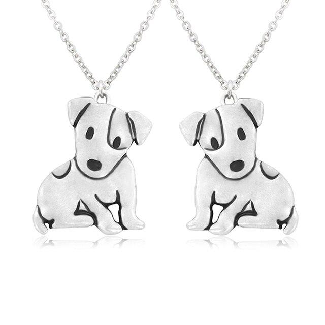 Dog Pendant Necklaces Set 3