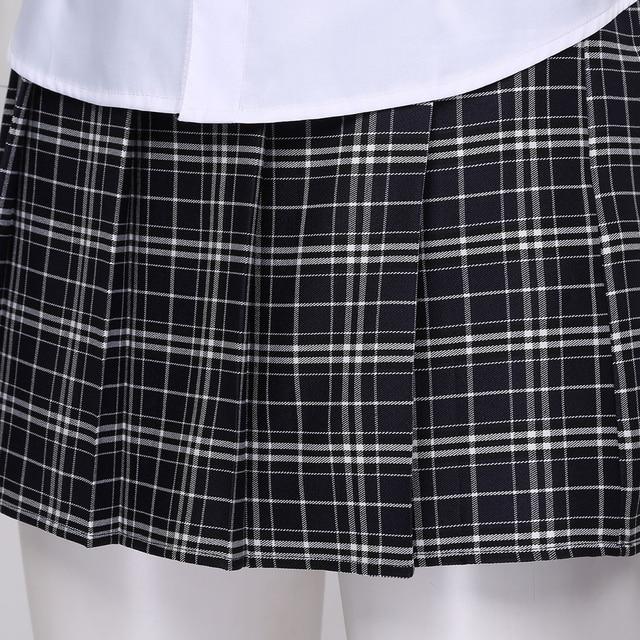 Sexy Adult Costume School Girl Cosplay Uniform #C1525 5