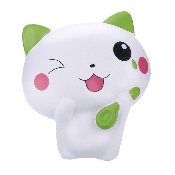Squishy Kawaii Cat Scented Slow Rising Squeeze Toy Collection Gift Funny  For Children Boys And Girls