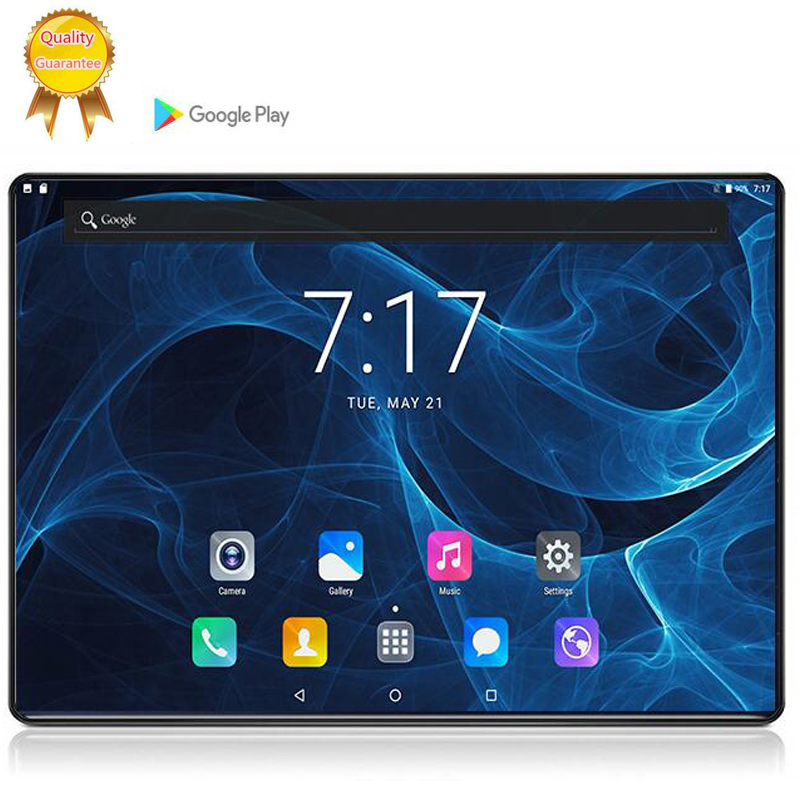 128GG MTK6753 10 Inch 6G Tablet PC Android 9.0 6GB RAM 128G ROM 8 Octa Cores Dual Cameras 5.0MP 1280 800 IPS Phone Tablet Stand