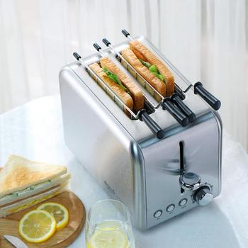 Deerma Bread Baking Machine Electric Toaster Household Automatic Breakfast Toast Sandwich Maker Reheat Kitchen Grill Oven 2