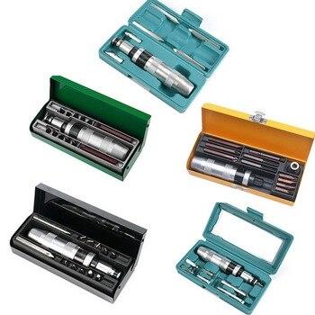 Impact Driver Kit Manual Screwdriver Set Repairing Tools Non-slip Grip Handle Tool Multifunctional Screwdriver-1 Box