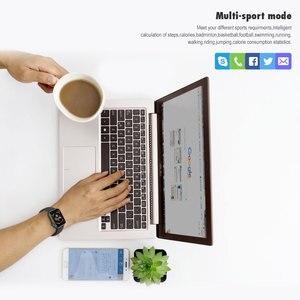 Image 3 - VERYFiTEK F10 akıllı saat nabız monitörü kan basıncı spor bilezik izle kadın erkek Smartwatch PK B57 P80 P70 IWO 8 9
