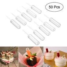 Chocolate Plastic 50pcs/Lot Baking-Tools Dropper Extrusion Pipette Cake-Ice-Cream 4ml