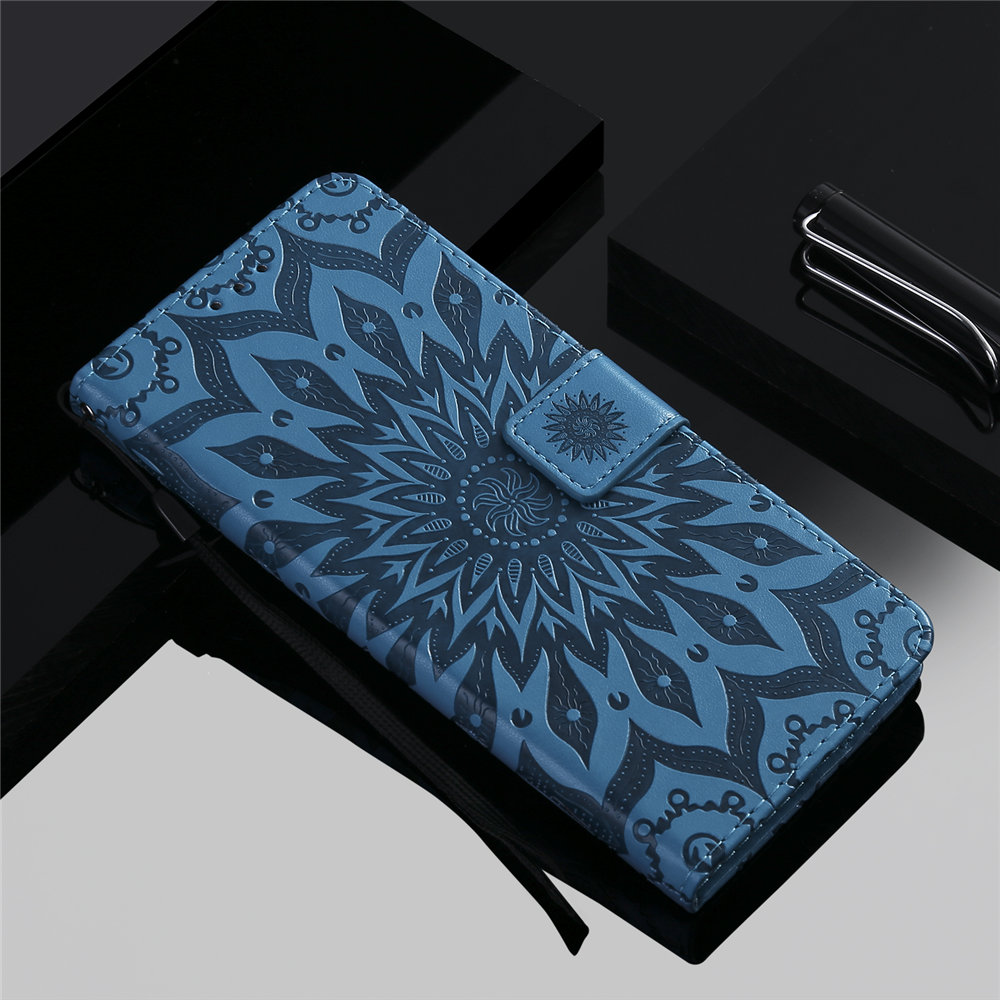 Luxury Flower Wallet Flip Case for iPhone 11/11 Pro/11 Pro Max 4