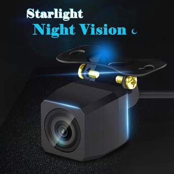 HD Starlight Night Vision Car Rearview Camera Waterproof 170 Wide Angle Reverse Parking Rear View Camera Kit car camera rear camera reverse parking assistance hd 170 degree wide viewing angle night vision waterproof vehicle camera