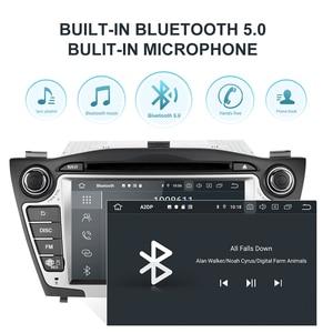 Image 3 - Lecteur multimédia de voiture Isudar PX6 2 Din Android 10 GPS pour Hyundai/IX35/TUCSON 2009 2015