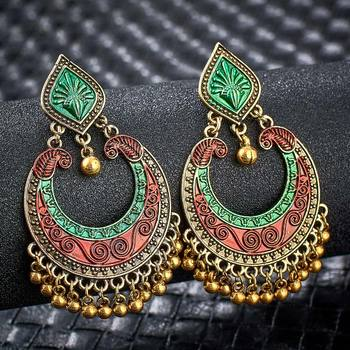 Fashion Metal Dangle Earrings Earrings Jewelry Women Jewelry Metal Color: S01121