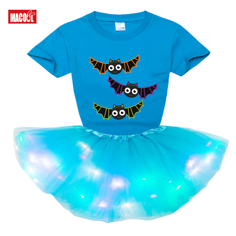 Костюмы на Хэллоуин платье для девочек вечерние платья комплекты