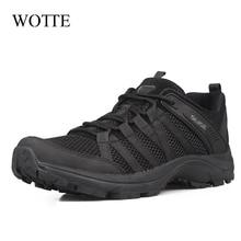 New Sneakers Men Casual Shoes Fashion Outdoor Lace-up Shoes For Men Comfortable Mesh Men's Shoes Large Size 46 Zapatillas Hombre