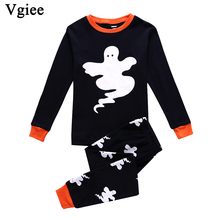 Vgiee Halloween Outfits Children Boys Girls Clothes Fall Winter Full Cotton Unisex Baby Kids Girl Set CC639