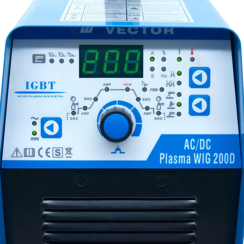 Tools : AC DC PLASMA WIG TIG AC DC Aluminum Welding Machine Inverter Welder Machine 200a MMA HF   Plasma Cutter 50a Cut