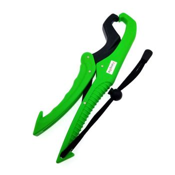 Fish Lip Holder Fishing Gripper Floating Floating Fish Holder Fishing Ship Gear Fishing Gripper Floating Holder practical fishing gripper luminous fish grabber plier controller floating fishing fish lip grip clamp holder with lanyard