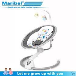 Veiligheid Baby Schommelstoel 0-3 Baby Elektrische Wieg Schommelstoel Rustgevende De Baby Artefact Slaapt Pasgeboren Slapen gratis Shipp