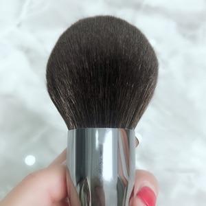 Image 4 - Bbl Pro High End Make Kabuki Poeder Borstel, Het Aanbrengen Van Losse/Compact Poeders, soft & Pluizige Gezicht Make Up Borstel Voor Mengen Blush