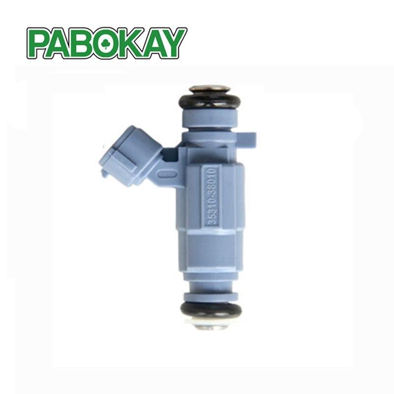 2001-2010 Flow Matched Fuel Injectors Set 6 for Hyundai Kia 2.0 2.7