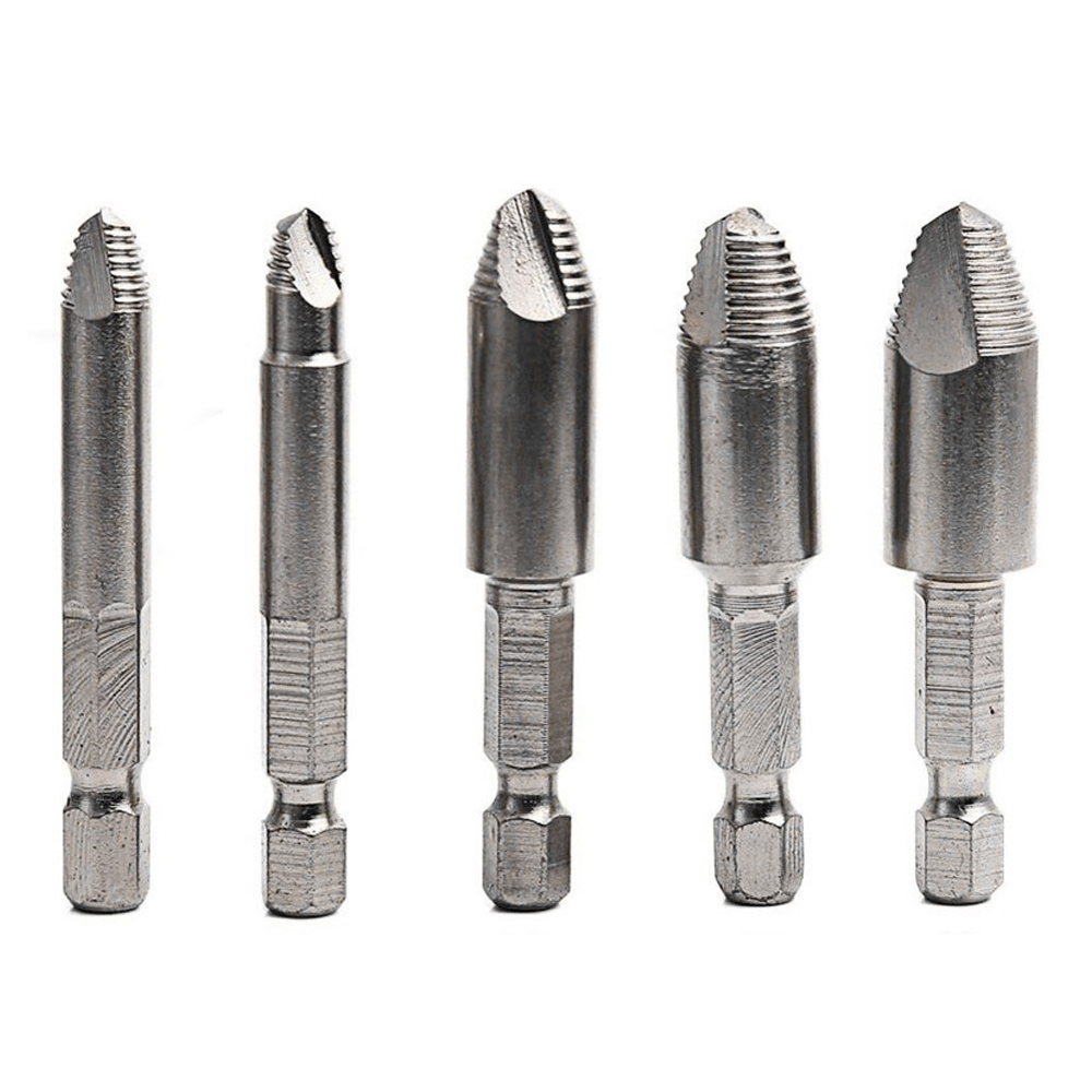 Hige Quality 1pcs Double Side Drill Out Damaged Screw Extractor Out Remover Handymen Broken Bolt Stud Removal Tool