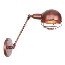 Винтажный светильник в железной клетке e27 110 В переменного