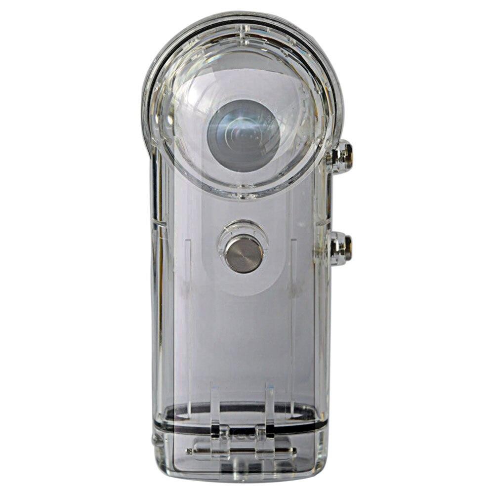 Boîtier de plongée étanche pour Ricoh Theta S/Theta V/Theta SC 360 ° caméra panoramique