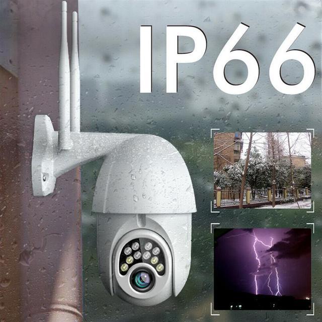 Купить ip66 hd 1080p wi fi ptz камера ip 2mp беспроводной на открытом картинки цена