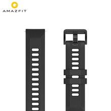 Originale Cinturino di Vigilanza 22 millimetri (Larghezza) di Silice Braccialetto per Xiaomi Huami Amazfit GTR(47 millimetri) E ritmo Stratos Vigilanza di Sport Intelligente 2 2S 3