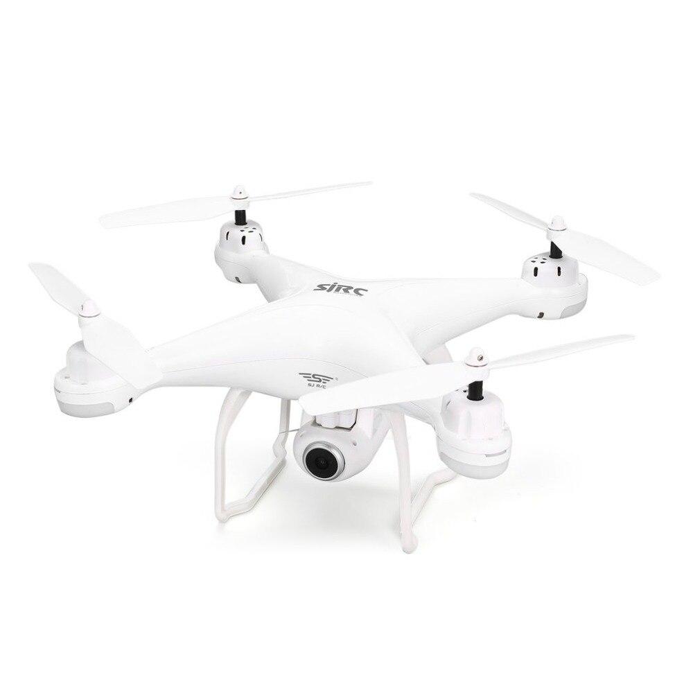 Sj r/c s20w fpv 720 p 1080 p câmera selfie altitude hold zangão modo headless retorno automático decolagem/pouso hover gps rc quadcopter - 6