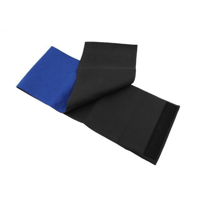Slimming Exercise Waist Sweat Belt Wrap Fat Burner Body Neoprene Cellulite Waist Braces & Supports Blue 1