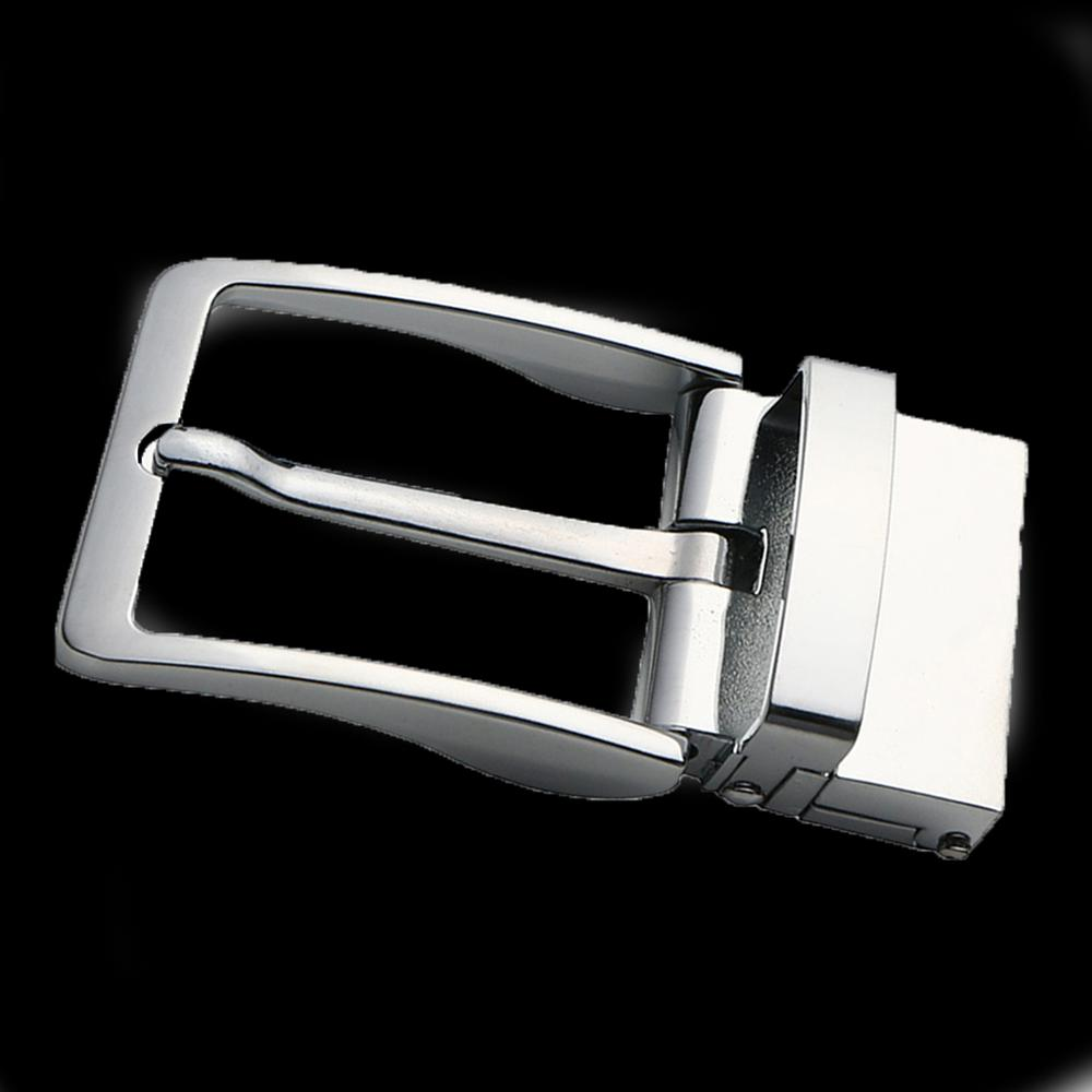 Alloy Rotatable Belt Buckle Single Prong Square Leather Belt Buckle For Men 4cm Belt  DIY Leather Craft Jeans Accessories