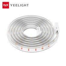 Yeelight bande lumineuse intelligente maison intelligente WiFi APP lumière LED télécommandée Version dextension de bande soutien couture