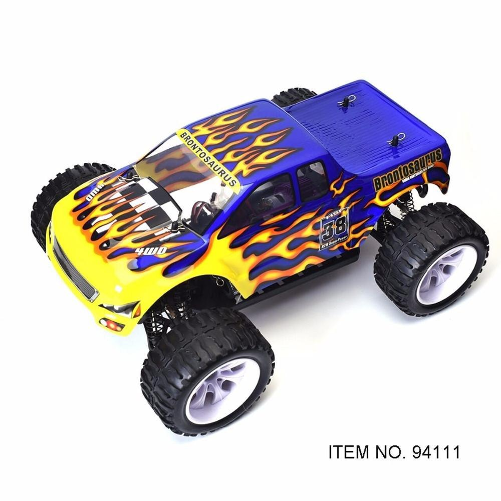 HSP RC Car 1/10 Scale 4wd Off Road Monster Truck 94111 Electric Power 4x4 vehicle Toys High Speed Hobby Remote Control Car image