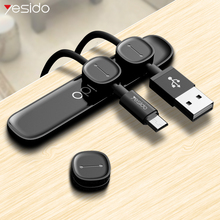 Yesido Magnetic Cable Organizer Silicone USB Cable Winder Flexible Cable Management Clips Holder For iPhone Mouse Keyboard cord