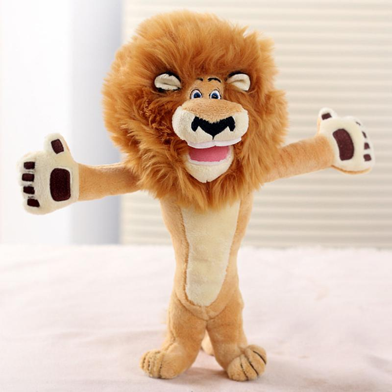 Cute Cartoon Madagascar Lion Plush Toy Creative Plush Toy Doll