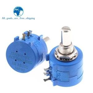 3590S Multiturn Potentiometer 500 1K 2K 5K 10K 20K 50K 100K ohm Potentiometer Adjustable Resistor 3590 102 202 502 103(China)