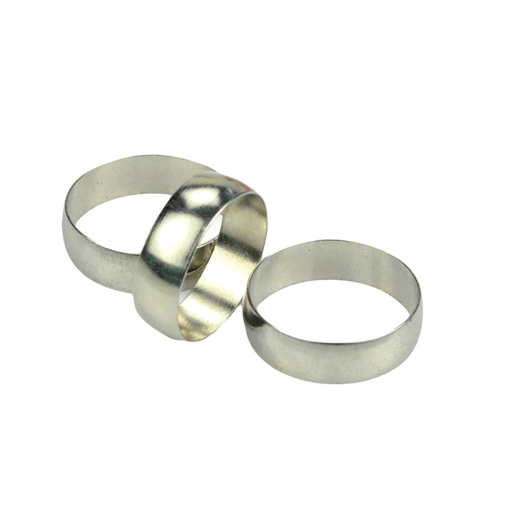 3Pcs Strong Magnetic Metal Close Up Magic Rings Mythical Gimmick Trick Props
