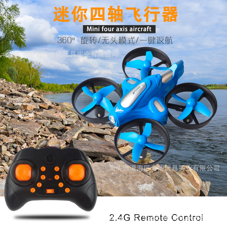 2.4G Handheld Headless Mode A Key Return Unmanned Aerial Vehicle Remote Control Mini Quadcopter
